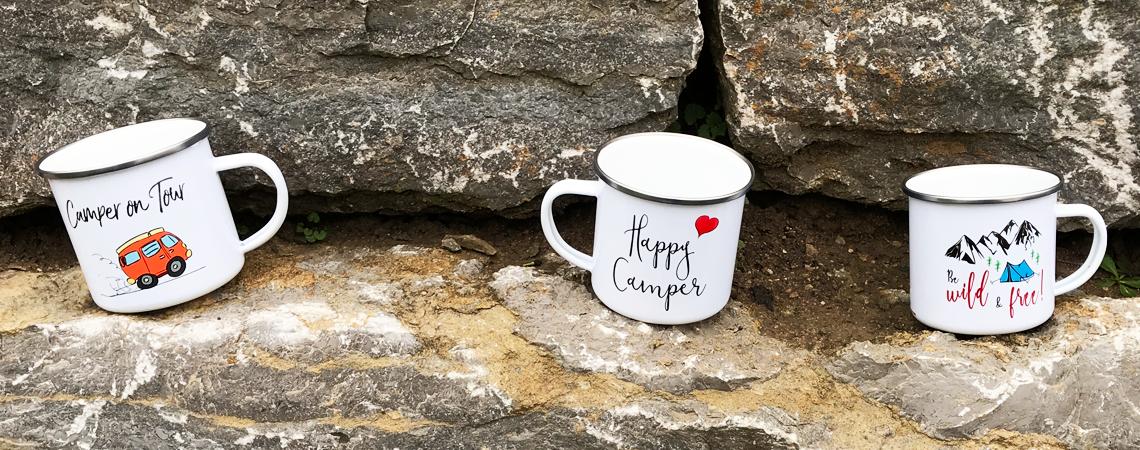 die perfekte Campingtasse für Deine Abenteuer