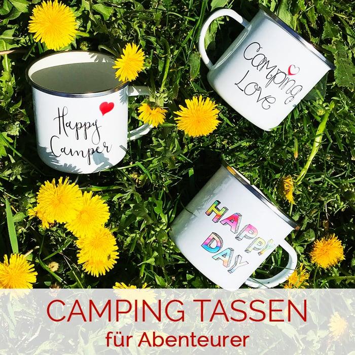 Campingtassen für Abenteurer