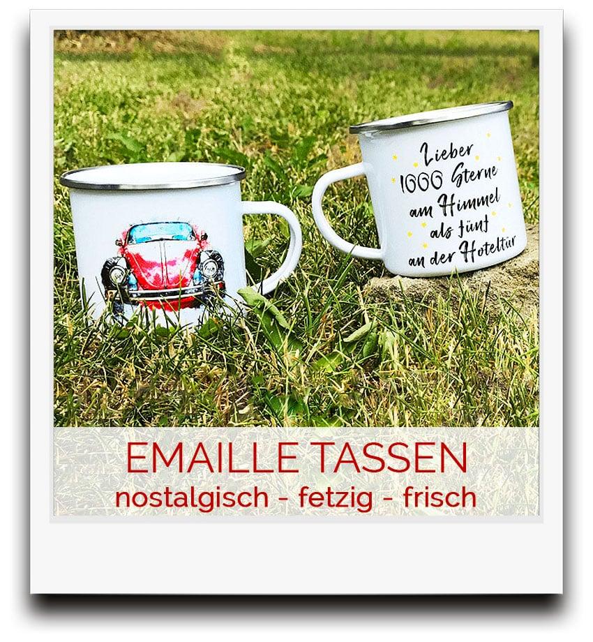 Emaille-Tassen - der coole Allrounder für deinen Alltag