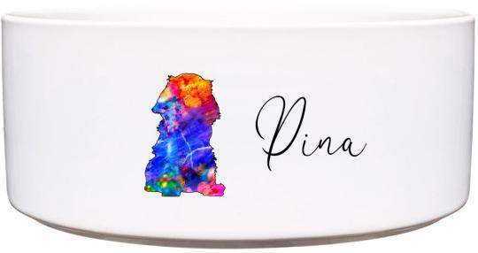 Keramik Futternapf CAVALIER ❤︎ personalisiert ❤︎