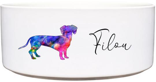 Keramik Futternapf DACKEL ❤︎ personalisiert ❤︎