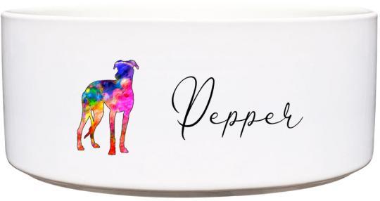 Keramik Futternapf GALGO ❤︎ personalisiert ❤︎
