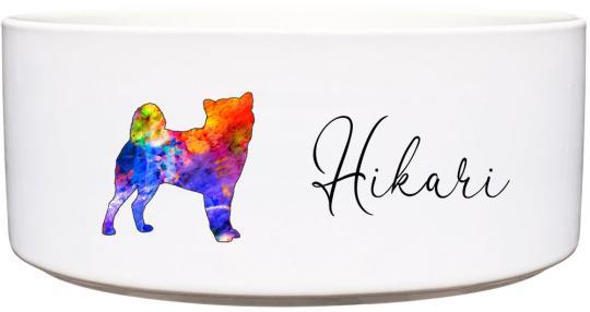 Keramik Futternapf SHIBA INU ❤︎ personalisiert ❤︎