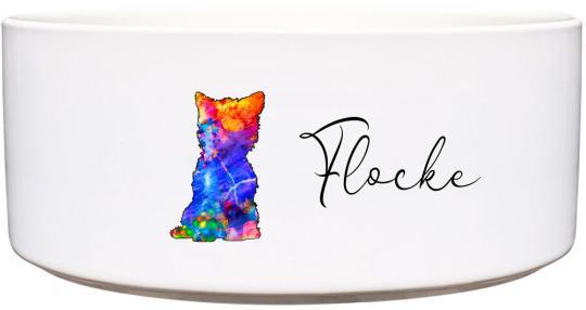 Keramik Futternapf WESTI ❤︎ personalisiert ❤︎