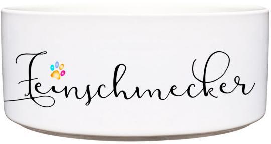 Keramik Futternapf FEINSCHMECKER