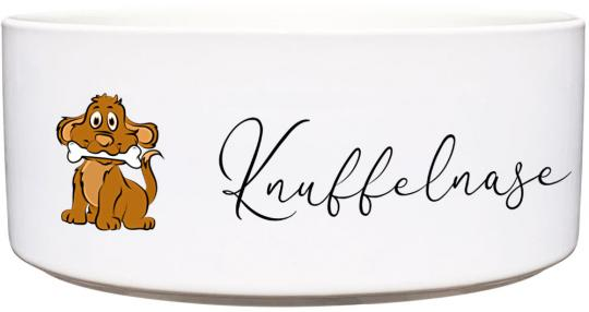 Keramik Futternapf KNUFFELNASE