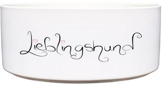 Keramik Futternapf LIEBLINGSHUND