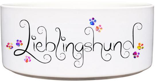 Keramik Futternapf LIEBLINGSHUND 1.300 ml