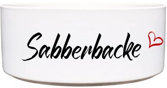 Keramik Futternapf SABBERBACKE