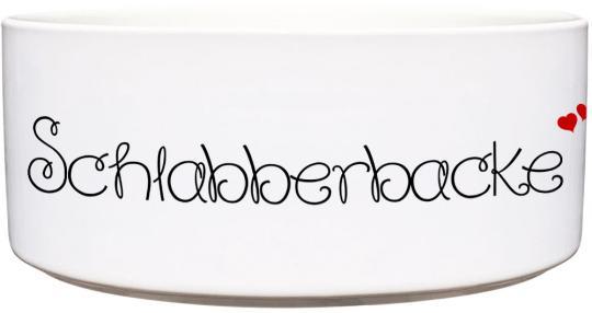 Keramik Futternapf SCHLABBERBACKE