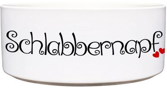 Keramik Futternapf SCHLABBERNAPF