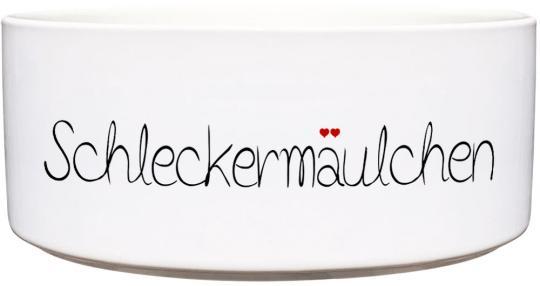 Keramik Futternapf SCHLECKERMÄULCHEN