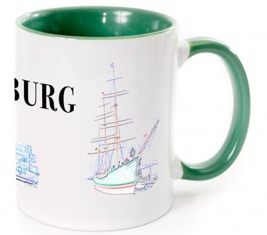 Tasse I LOVE HAMBURG