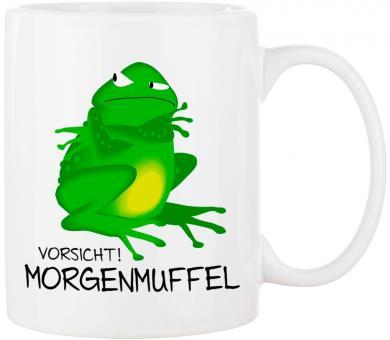 Tasse VORSICHT! MORGENMUFFEL