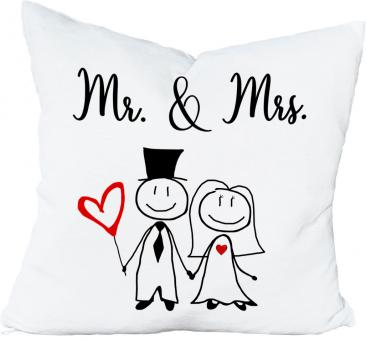 Kissen MR. & MRS.