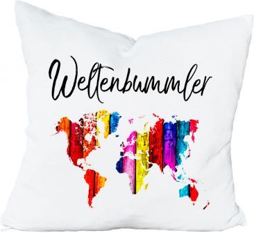 Kissen WELTENBUMMLER