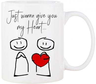 Tasse GIVE YOU MY HEART