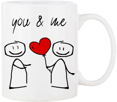 Tasse YOU & ME